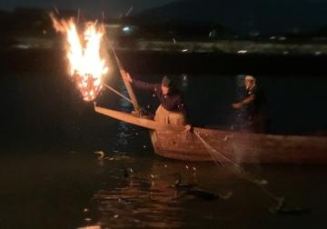 ぎふの長良川鵜飼を堪能。