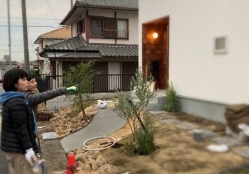 『コトリノハウス』~お庭つくり編~