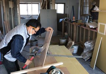 現場日記『katu』(名古屋市郊外マンションリノベーション)を更新しました