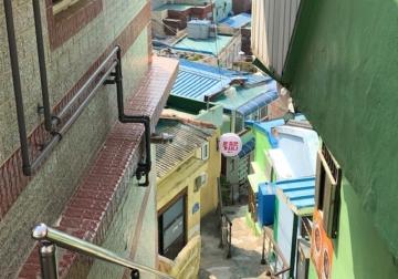 建物から感じる文化の違い<釜山の風景>