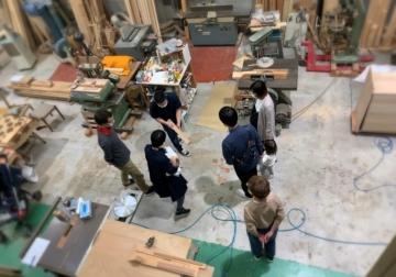 「トリノス工房」で家具の勉強&カッティングボードづくり。