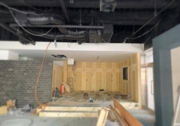 とあるショールーム新築工事が大詰めです!